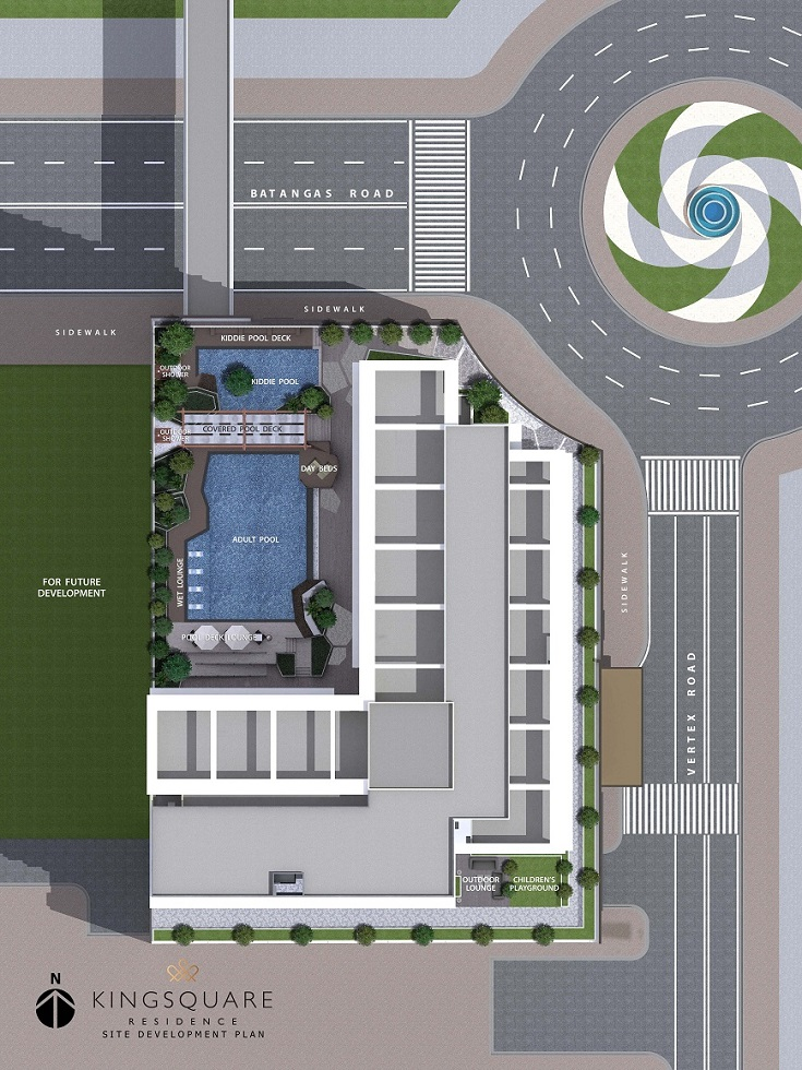 Kingsquare Residence - Site Development Plan