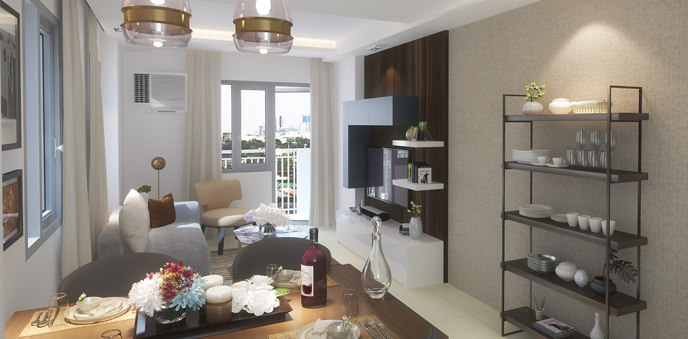 Kingsquare Residence - 1 Bedroom - Living and Dining