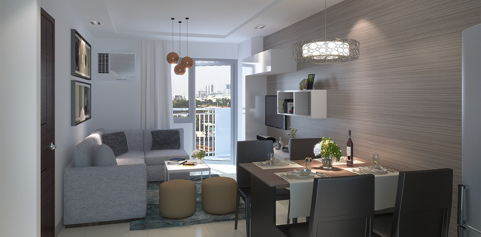 Kingsquare Residence - 2 Bedroom - Living and Dining