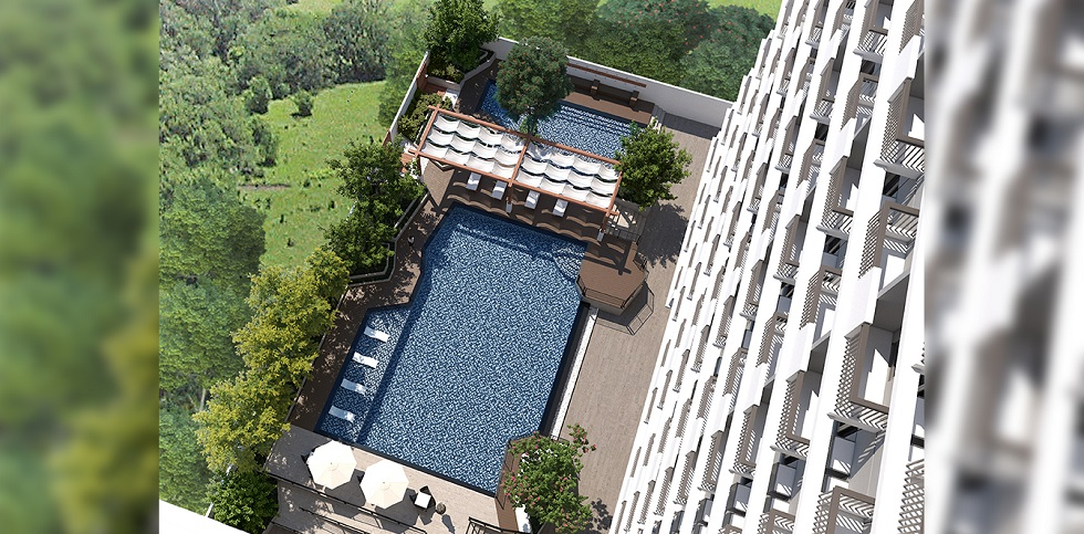 Kingsquare Residence - Aerial View