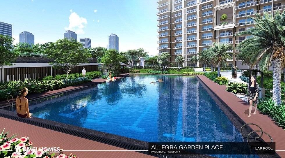 Allegra Garden Place - Lap Pool