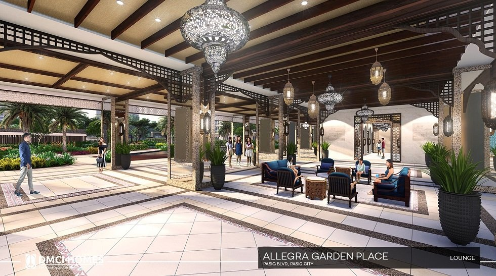 Allegra Garden Place - Lounge Area