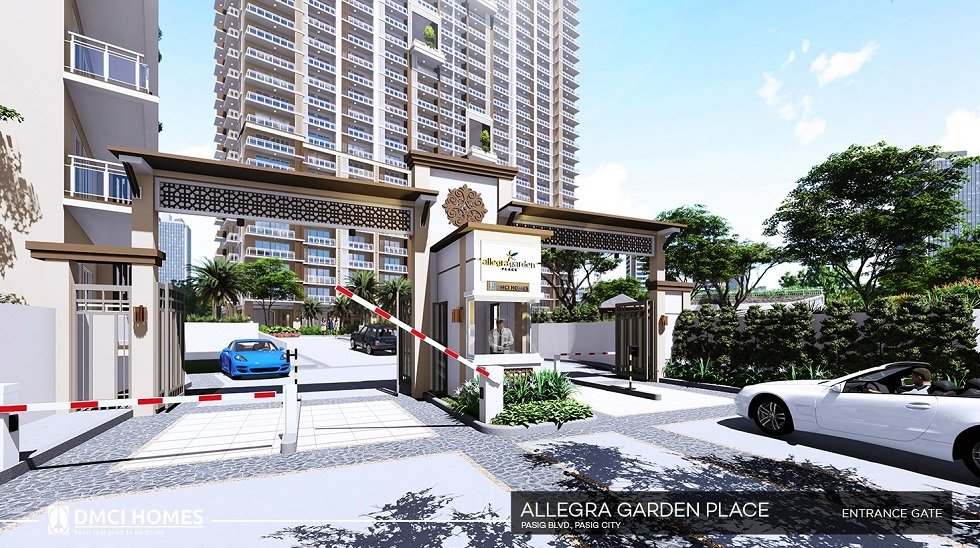 Allegra Garden Place - Main Entrance Gate
