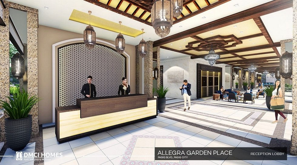Allegra Garden Place - Reception Lobby