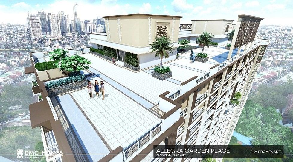 Allegra Garden Place - Sky Promenade