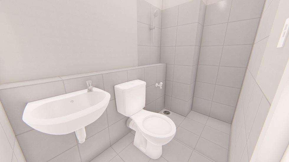 Urban Deca Homes Ortigas - Toilet and Bathroom