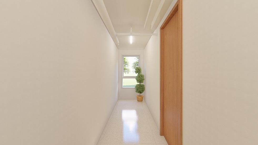 Urban Deca Homes Ortigas - Hallway Corner Area