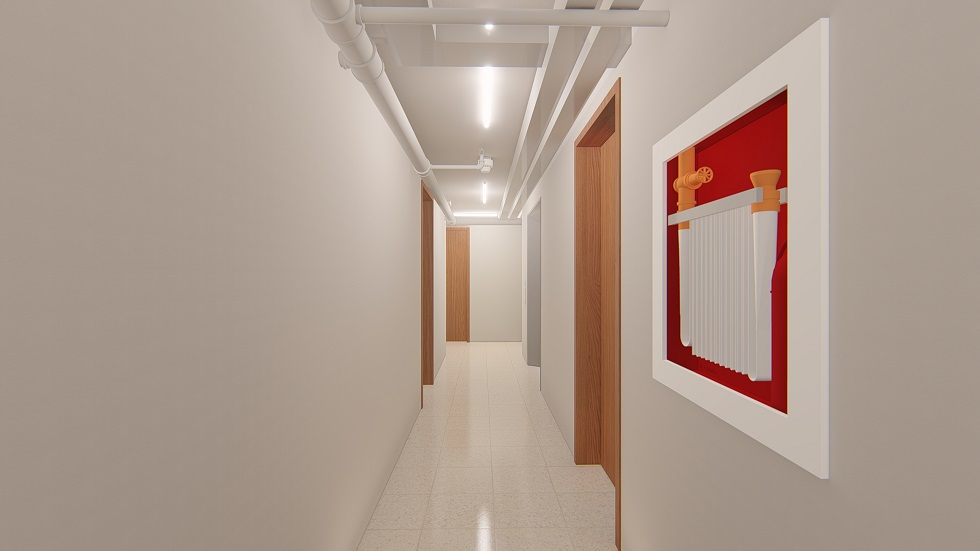 Urban Deca Homes Ortigas - Hallway Elevator Area