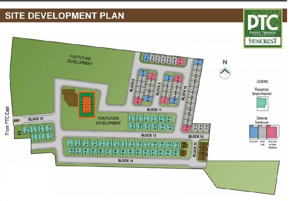 PTC Suncrest - Site Development Plan