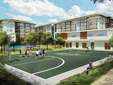 Amaia Steps Nuvali - Basketball Court