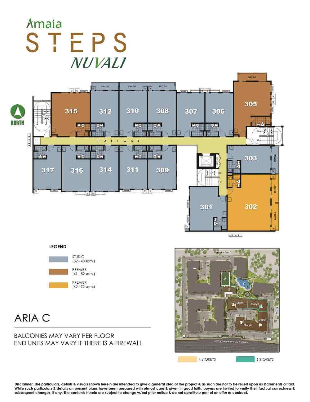 Amaia Steps Nuvali - Floor Plan