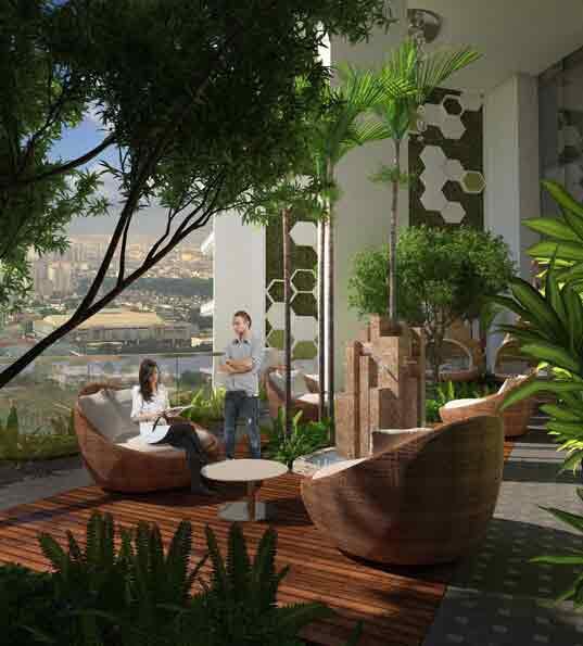 Uptown Parksuites - Tower 2 Sky Garden