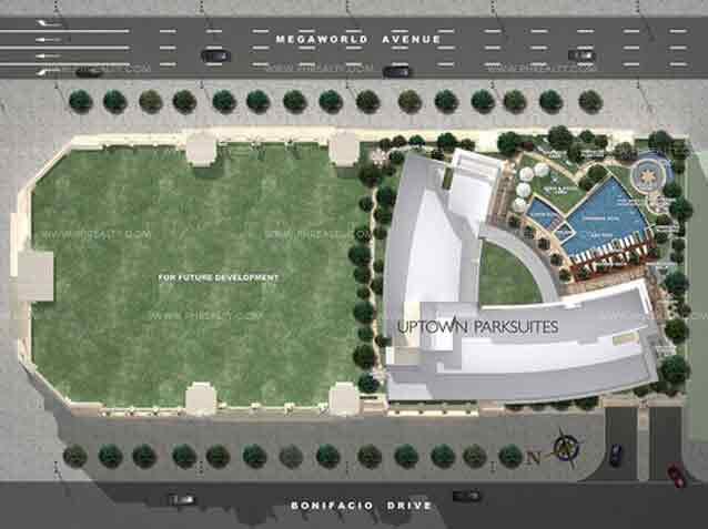 Uptown Parksuites - Building Plans