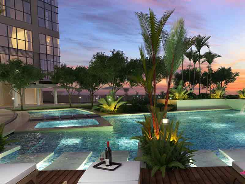 Uptown Parksuites - Pool Area
