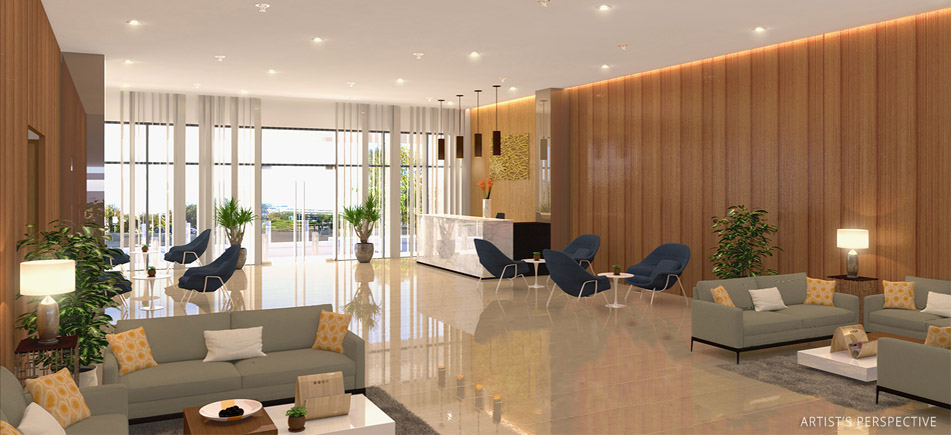 Avida Towers Makati Southpoint - Reception Lobby