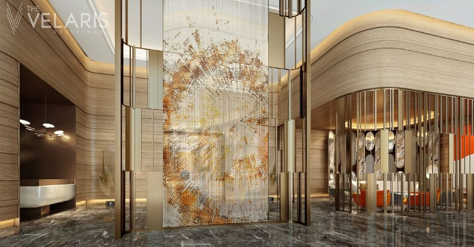 The Velaris Residences - Reception Lobby