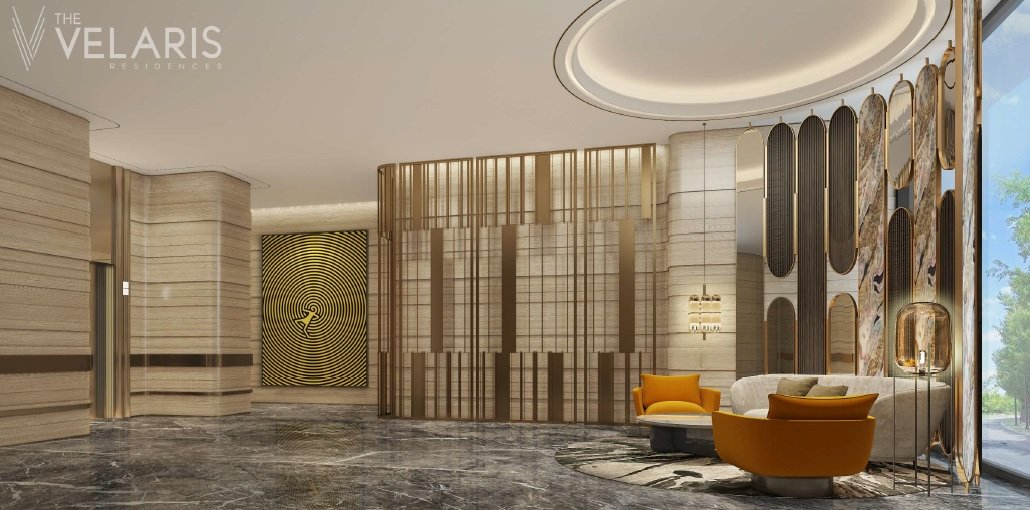 The Velaris Residences - Lobby for Private Lifts