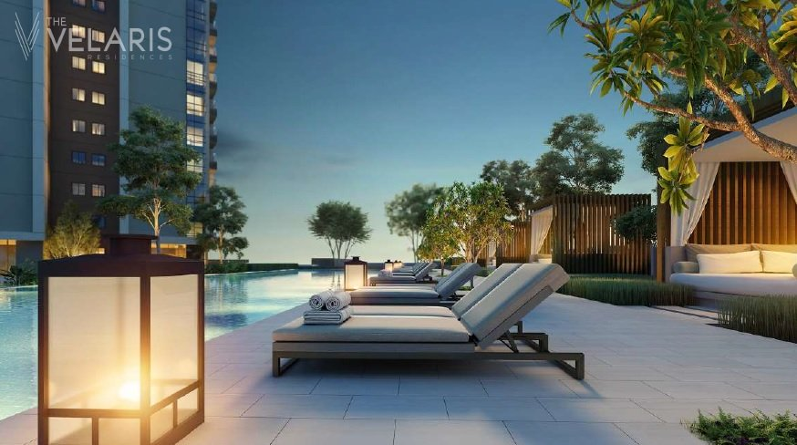 The Velaris Residences - Pool Area