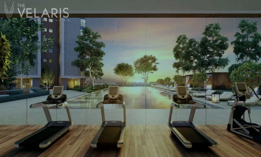 The Velaris Residences - Fitness Gym