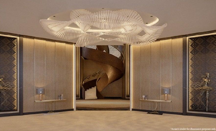Aurelia Residences - Spiral Staircase