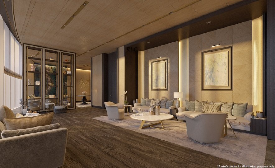 Aurelia Residences - Winged Lounges