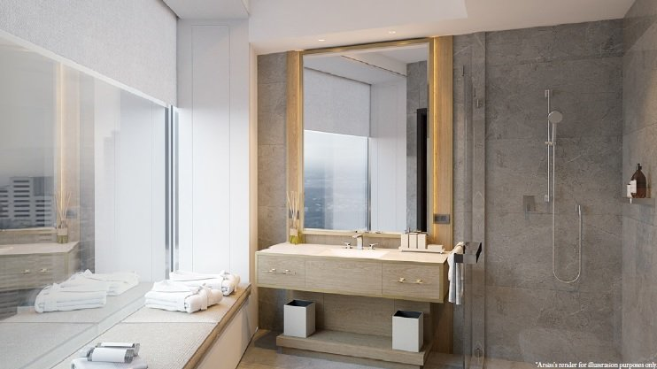 Aurelia Residences - Bathroom
