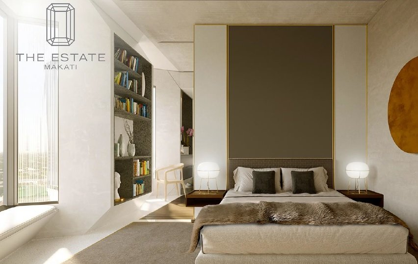 The Estate Makati - Masters Bedroom