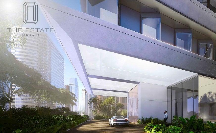 The Estate Makati - Driveway
