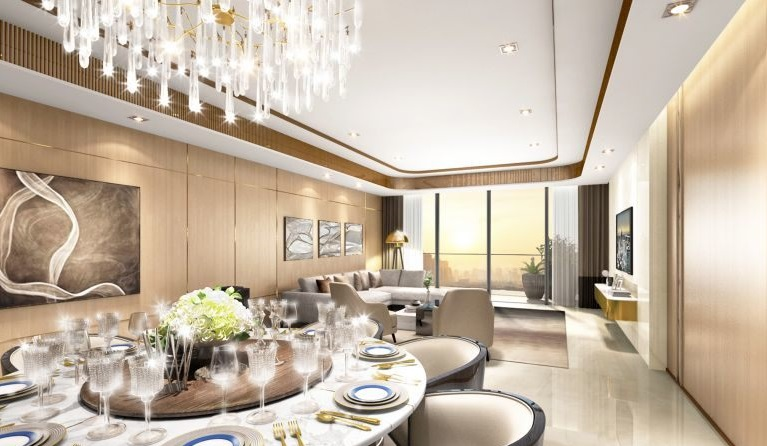 Copeton Baysuites - Living and Dining Area