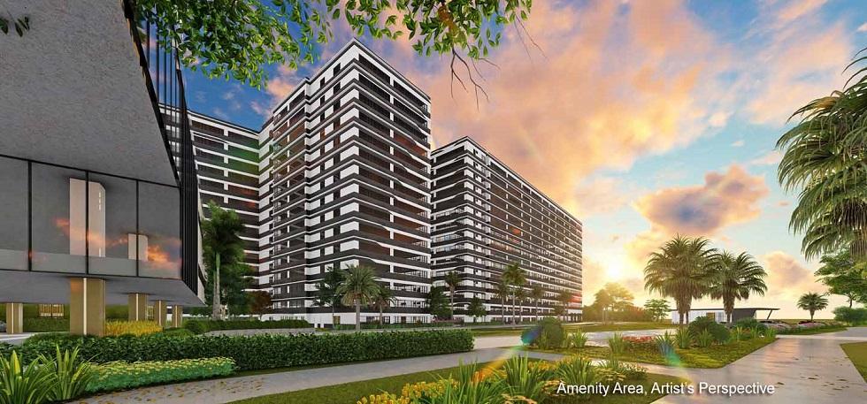 Gold Residences - Building Facade