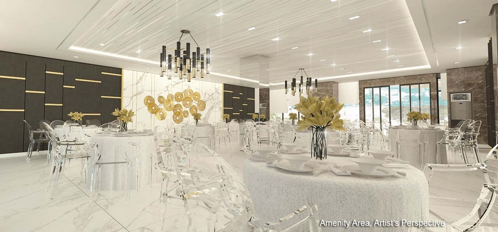 Gold Residences - Social Hall