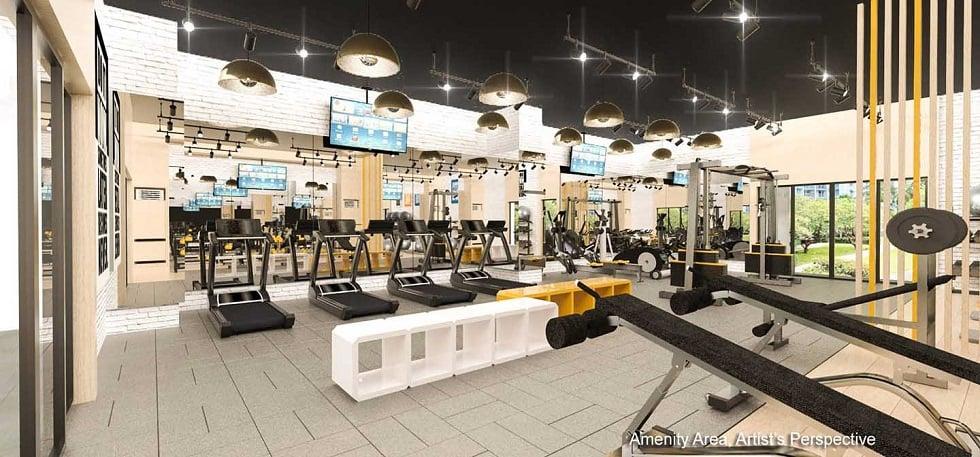 Gold Residences - Gym