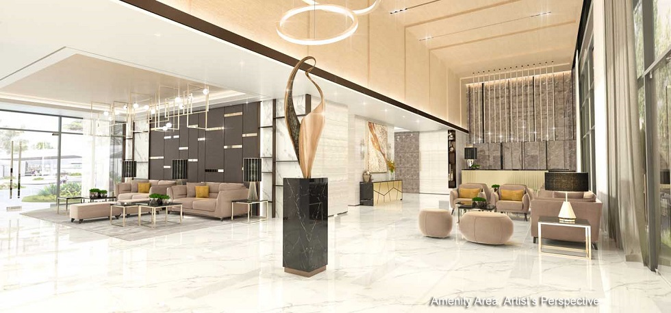 Gold Residences - Reception Lobby