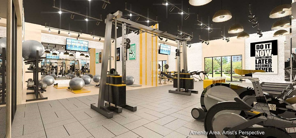 Gold Residences - Fitness Gym