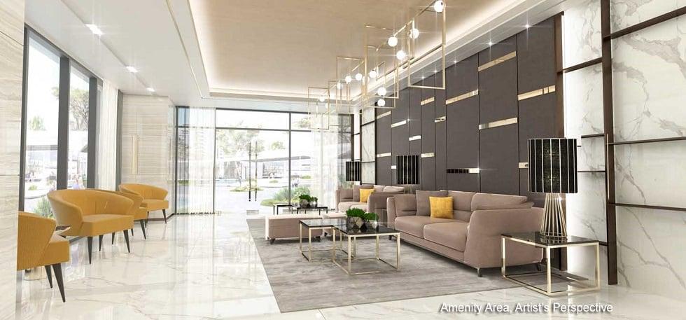 Gold Residences - Lobby Area