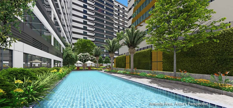 Gold Residences - Pool Area