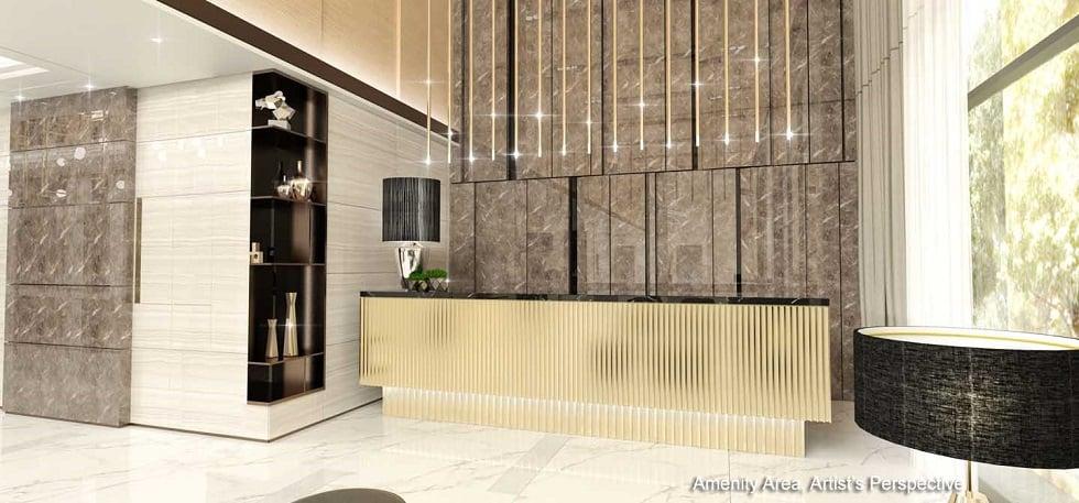 Gold Residences - Reception Lobby