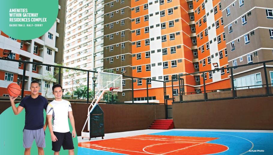 Gateway Regency Studios - Basketball Half Court