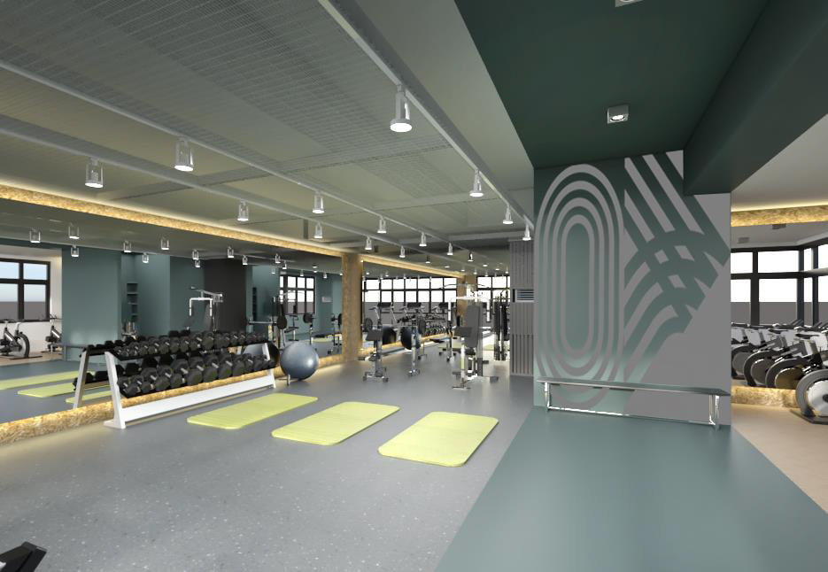 Mergent Residences - Fitness Area