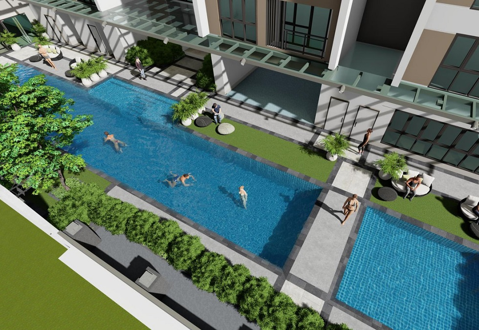 Mergent Residences - Swimming Pool