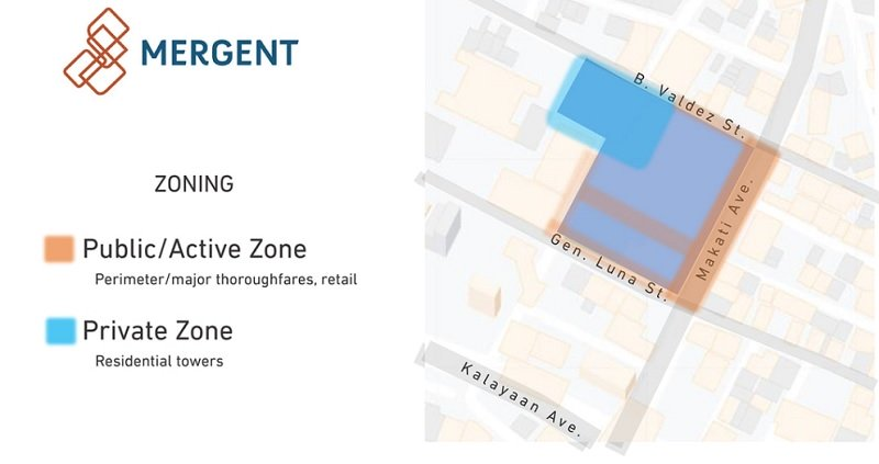 Mergent Residences - Location Map