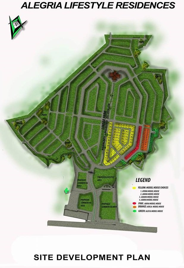 Alegria Residences - Site Development Plan