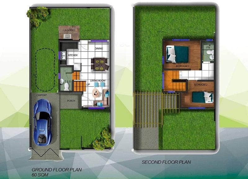 Alegria Residences - Aleica Floor Plan