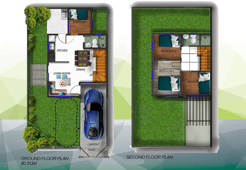 Alegria Residences - Adella Floor Plan