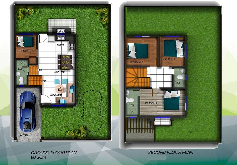 Alegria Residences - Abria Floor Plan