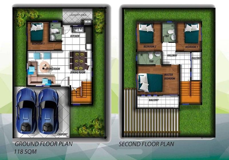 Alegria Residences - Adama Floor Plan