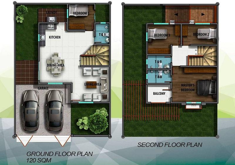 Alegria Residences - Adora Floor Plan