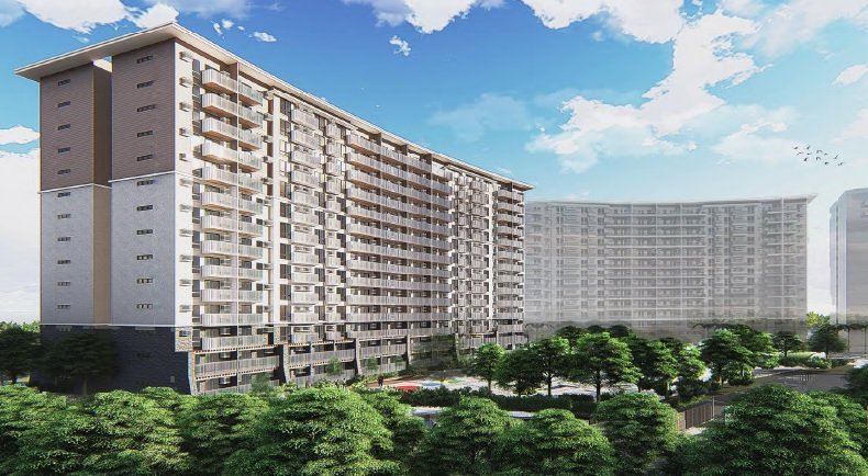 I Land Residences Sucat - Building Facade Day Time