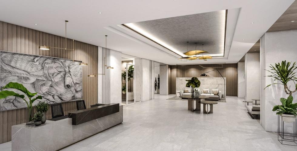 Parkford Suites Legazpi - Reception Lobby