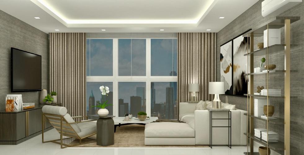 Parkford Suites Legazpi - 2 BR Living Area